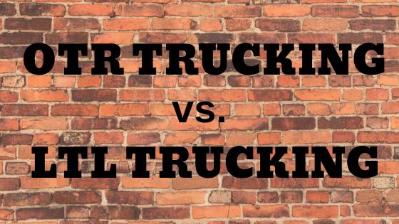 TD137: OTR Trucking vs  LTL Trucking -